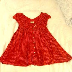 Red and White Star Ralph Lauren Sundress